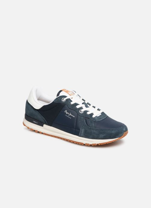 Trainers Pepe jeans Tinker Pro Premiun Blue detailed view/ Pair view