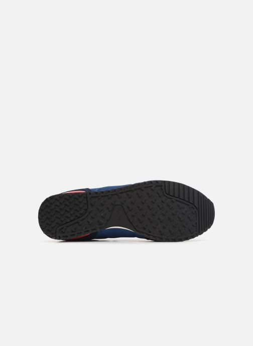 Baskets Pepe jeans Tinker Basic Nylon Bleu vue haut