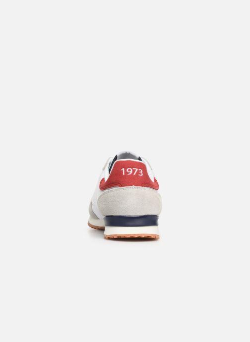 Baskets Pepe jeans Tinker Basic Nylon Blanc vue droite