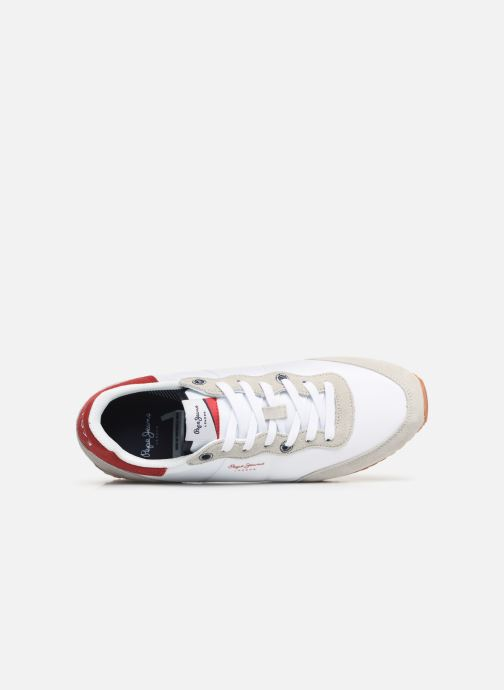 Baskets Pepe jeans Tinker Basic Nylon Blanc vue gauche