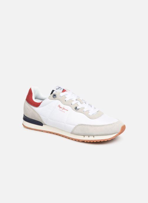 Baskets Pepe jeans Tinker Basic Nylon Blanc vue détail/paire