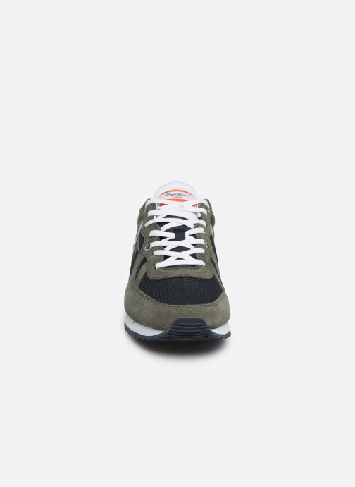 Baskets Pepe jeans Tinker Zero Seal Vert vue portées chaussures