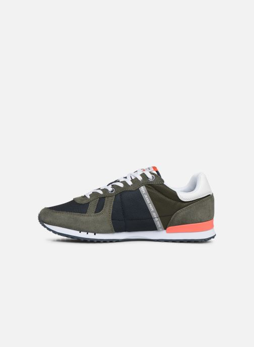 Trainers Pepe jeans Tinker Zero Seal Green front view