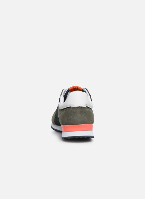 Trainers Pepe jeans Tinker Zero Seal Green view from the right