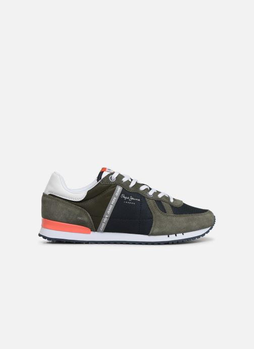 Trainers Pepe jeans Tinker Zero Seal Green back view