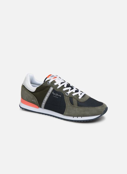 Trainers Pepe jeans Tinker Zero Seal Green detailed view/ Pair view