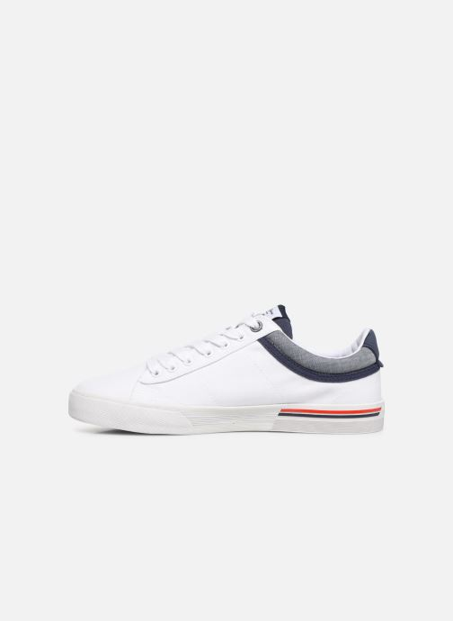 Trainers Pepe jeans North Court White front view
