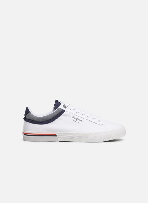 Trainers Pepe jeans North Court White back view