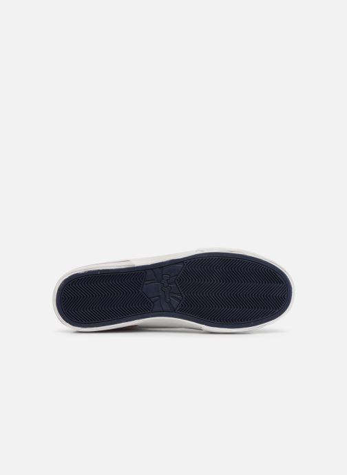 Baskets Pepe jeans North Court Blanc vue haut