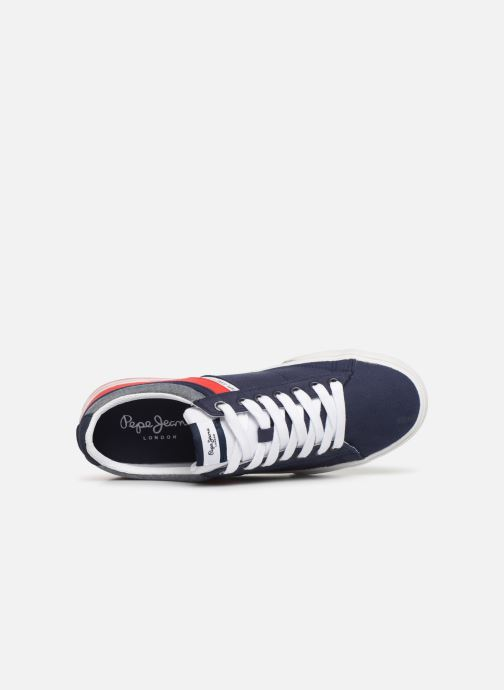 Trainers Pepe jeans North Half Blue view from the left