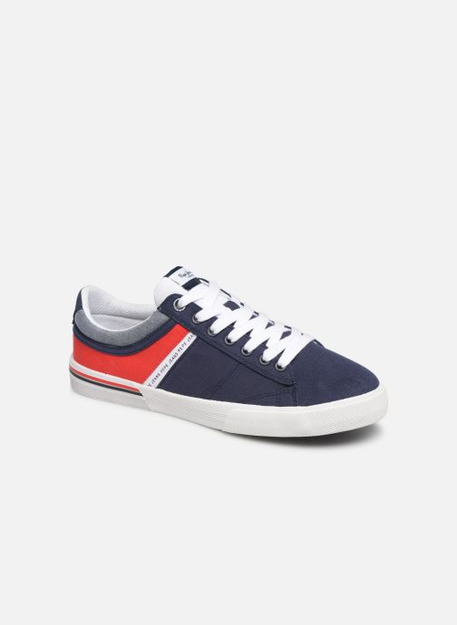 Trainers Pepe jeans North Half Blue detailed view/ Pair view