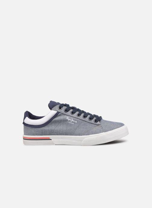Sneaker Pepe jeans North Court Chambray blau ansicht von hinten
