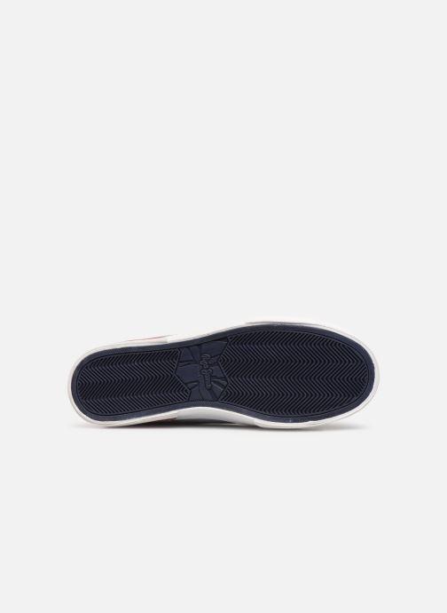Baskets Pepe jeans North Court Chambray Bleu vue haut