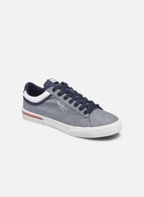 Sneaker Pepe jeans North Court Chambray blau detaillierte ansicht/modell