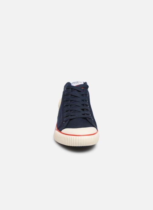 Sneaker Pepe jeans Industry Basic 2 blau schuhe getragen
