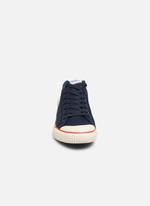 Baskets Pepe jeans Industry Basic 2 Bleu vue portées chaussures