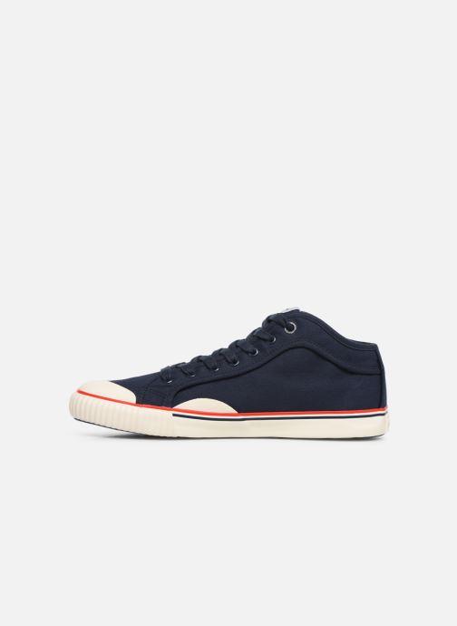 Sneaker Pepe jeans Industry Basic 2 blau ansicht von vorne