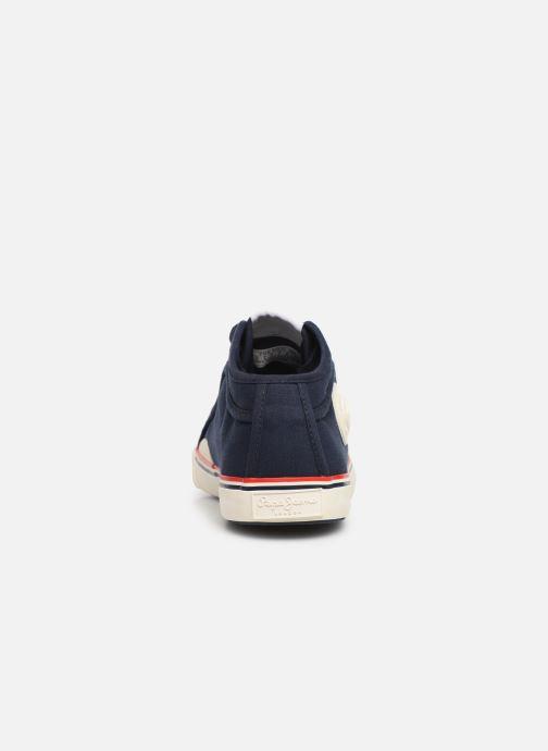 Sneaker Pepe jeans Industry Basic 2 blau ansicht von rechts