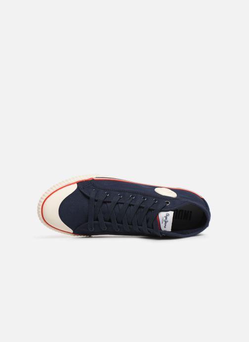 Sneaker Pepe jeans Industry Basic 2 blau ansicht von links