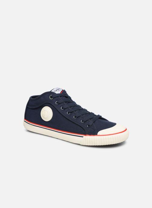 Baskets Pepe jeans Industry Basic 2 Bleu vue détail/paire