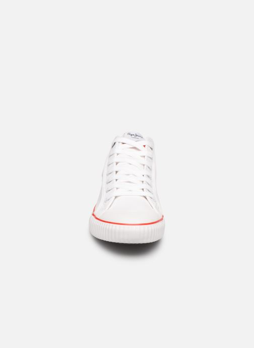 Baskets Pepe jeans Industry Basic 2 Blanc vue portées chaussures