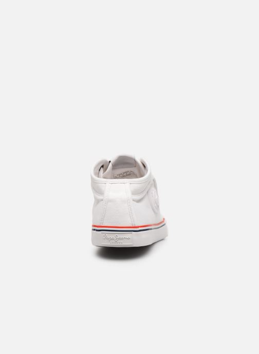 Deportivas Pepe jeans Industry Basic 2 Blanco vista lateral derecha