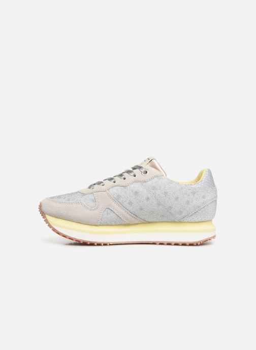 Sneakers Pepe jeans Zion Remake Argento immagine frontale