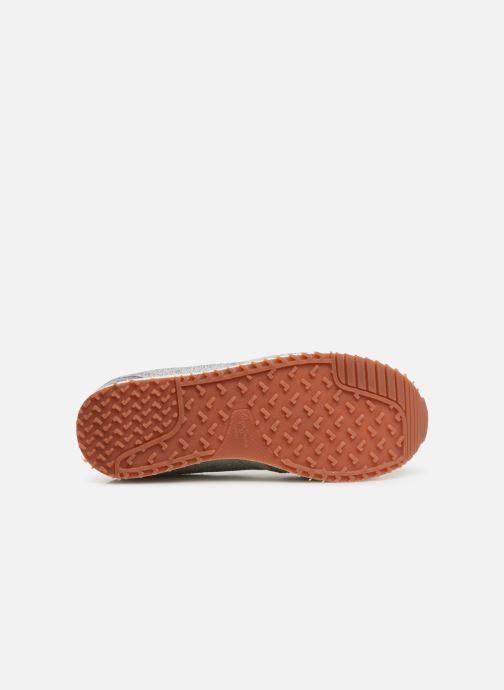 Baskets Pepe jeans Zion Remake Argent vue haut