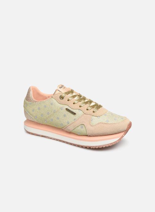 Sneakers Pepe jeans Zion Remake Oro e bronzo vedi dettaglio/paio