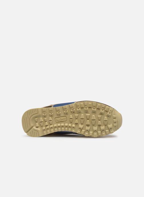 Baskets Pepe jeans Verona W Greek 2 Bleu vue haut