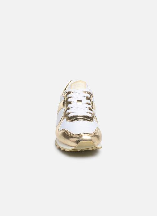 Baskets Pepe jeans Verona W Greek 2 Blanc vue portées chaussures