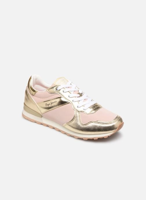 Baskets Pepe jeans Verona W Greek 2 Rose vue détail/paire