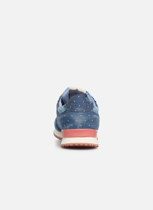 Sneakers Pepe jeans Gable Patch Dot Azzurro immagine destra