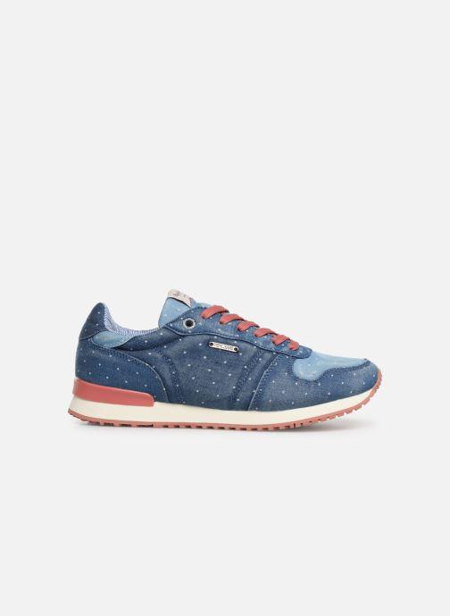 Sneaker Pepe jeans Gable Patch Dot blau ansicht von hinten