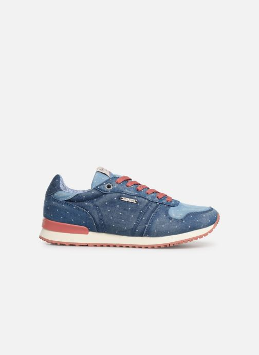 Trainers Pepe jeans Gable Patch Dot Blue back view