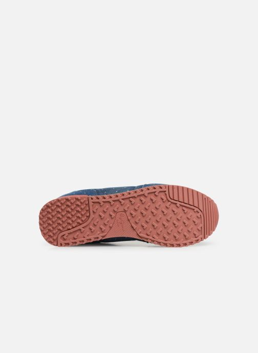 Baskets Pepe jeans Gable Patch Dot Bleu vue haut