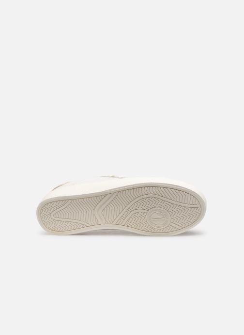 Baskets Pepe jeans Kioto Dotty Blanc vue haut