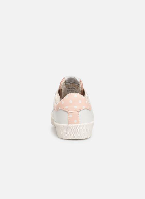 Baskets Pepe jeans Kioto Dotty Blanc vue droite
