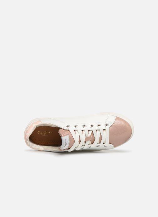 Baskets Pepe jeans Kioto Dotty Blanc vue gauche