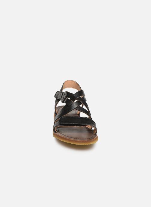 Sandali e scarpe aperte Bisgaard Charlotta Nero modello indossato