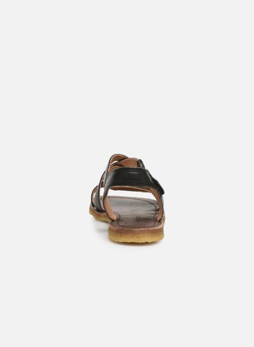 Sandali e scarpe aperte Bisgaard Charlotta Nero immagine destra