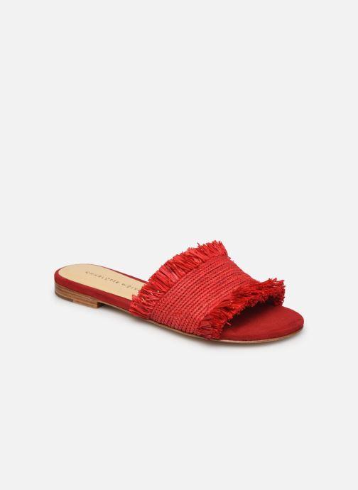 Clogs & Pantoletten Charlotte Woivré Suzy rot detaillierte ansicht/modell
