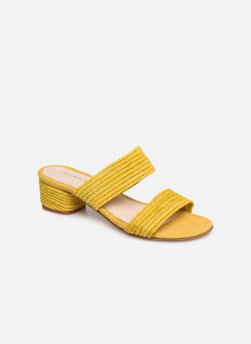 Mules & clogs Charlotte Woivré Lucie Yellow detailed view/ Pair view