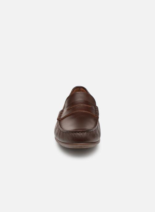 Slipper Marvin&Co Slone braun schuhe getragen