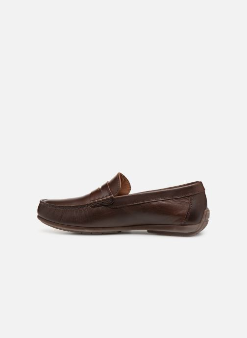 Loafers Marvin&co Slone Brown front view