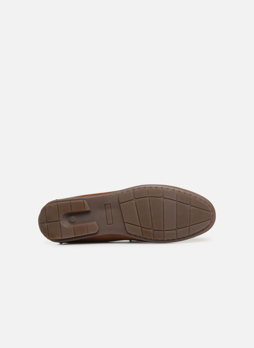 Mocassins Marvin&Co Slone Marron vue haut