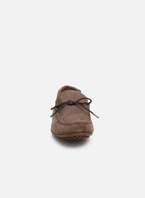 Mocassins Marvin&Co Staleys Marron vue portées chaussures
