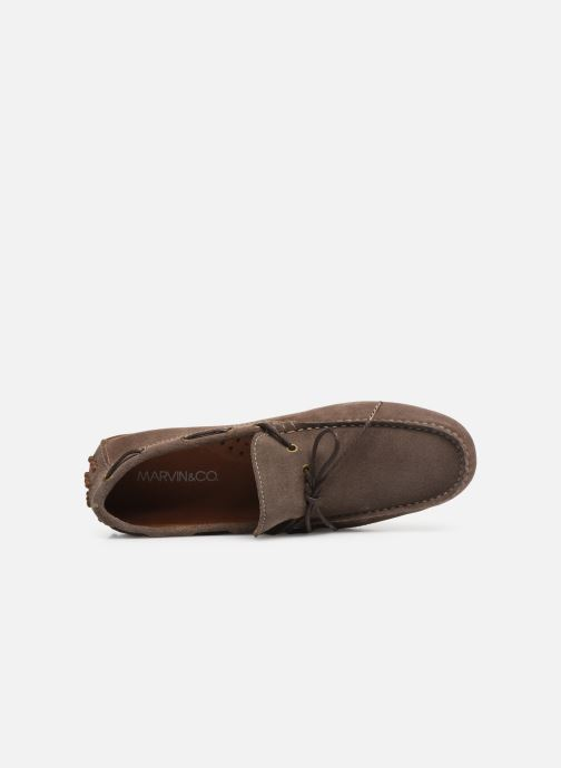 Loafers Marvin&Co Staleys Brun se fra venstre