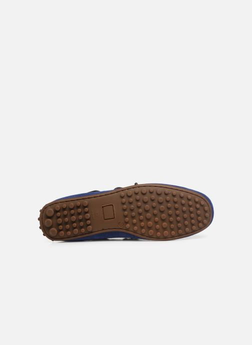 Mocassins Marvin&Co Staleys Bleu vue haut