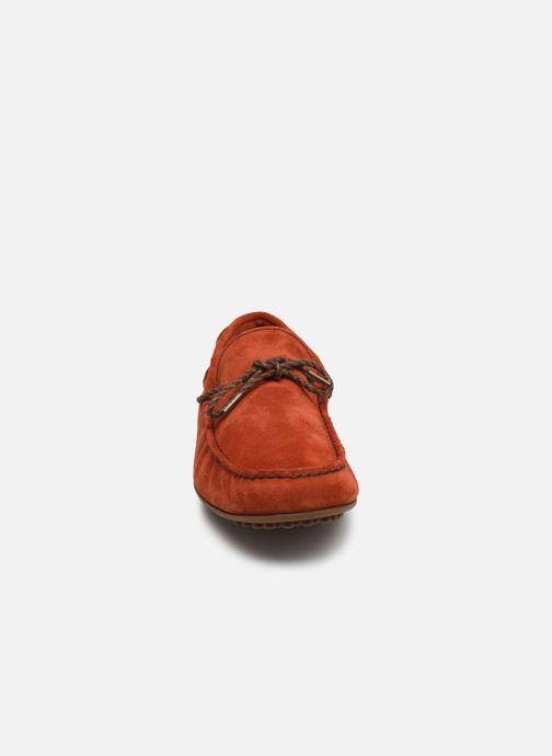 Mocassini Marvin&Co Staleys Arancione modello indossato